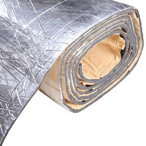 "Bonnet Hood Liner Insulation Heat Sound Deadener 59""x40"" Auto Truck Parts 394mil"