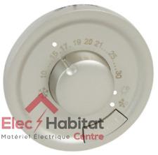 Enjoliveur pour thermostat d'ambiance Legrand céliane titane 68540