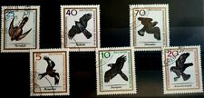 1965 Full Set of 6 DDR East Germany Stamps - Birds Of Prey - PC/NH