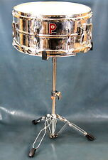 "Premier Snare Drum  6.5"" x 14"" with Stand made in England"
