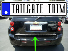 Chrome Tailgate Trunk Molding Trim - Chevy