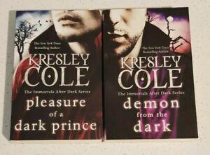 Pleasure of a Dark Prince Demon By Kresley Cole Immortals After Dark #8-9