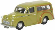 Oxford Diecast Morris Minor Traveller Limeflower Die Cast Model 1:76 00 Scale