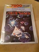 ASTEROIDS for ATARI 7800 ▪︎ BRAND NEW FACTORY SEALED ▪︎ FREE SHIPPING ▪︎