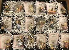 Set of 18 Vintage Assorted Goebel Berta Hummel Christmas Angel Ornaments Coas