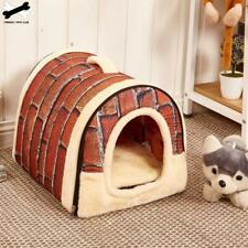 Large Pet Dog Bed cat house cave Comfortable Print Stars Kennel Mat For Pet
