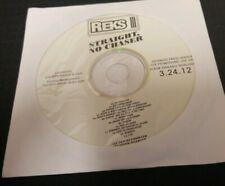 Reks - Straight, No Chaser CD Advanced Radio Clean Promo Rare La Coka Nostra lcn