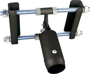GIRDER MOUNT 50MM POLE SYSTEM2 BLACK Audio Visual Stand & Supports