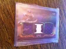 2009 TRIPLE THREADS PERCY HARVIN ROOKIE PRIME TRIPLE JERSEY PATCH TRUE 1/1!!!!!!