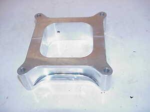 "SUPERLITE 1.875"" Thick Billet Aluminum Holley Carburetor Spacer Wilson WCS4"