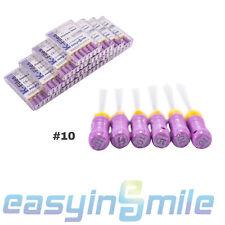 New listing Sale�10X Dental Stainless Steel Handle Endo Files K-Files 10# 25Mm Easyinsmile