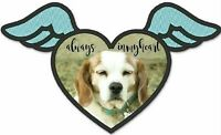 Custom Photo, printed patch, personalized angel embroidery patch