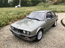 Rare Otto Models 1:18 - BMW E30 325i Coupé Phase 2 grey - Otto Mobile OT571 NEW