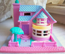 Vintage Polly Pocket Bay Window house complete set w doll Bluebird Toys *Lights*