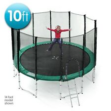 10 ft Springless trampoline with net
