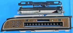 1975 1976 1977 Lincoln Continental OEM Speedometer Cluster - NICE !!!