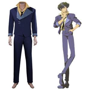 Anime Cowboy Bebop Cosplay Spike Spiegel Costume Halloween Outfit Uniform