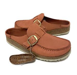 Birkenstock Buckley Women's Size 7 (EU38)N Fit Brick Leather Casual Shoes