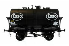 Dapol 7f-059-010 14t Tank Wagon Class B ESSO Black 1854 O Gauge