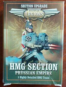 Dystopian Legions - Prussian HMG & Crew MIB
