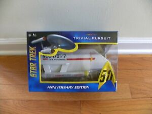 Trivial Pursuit STAR TREK 50th Anniversary Edition by USAopoly Hasbro - NEW