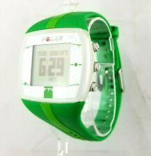 Polar FT4 Heart Rate Monitor Activity Tracker Wrist watch Green Adjustable Band