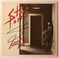 Steve Perry Signed Street Talk Vinyl LP JSA COA # R52186 Autographed Journey
