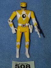 Power Rangers Mighty Morphin Jaune Original Ranger fliphead + pistolet
