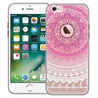 Schutzhülle Apple iPhone 6 6S Plus Hülle Silikon Handy Tasche Mandala Case Cover