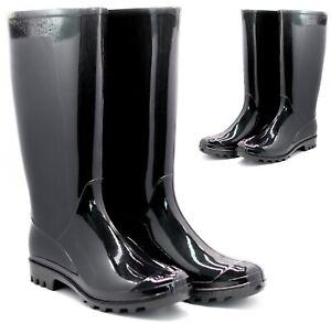 LADIES GARDEN WELLINGTON BOOTS WOMENS FESTIVAL WELLIES RAIN WATERPROOF SHOES SZ