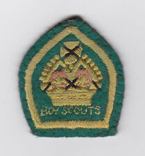 1927's UNITED KINGDOM / BRITISH SCOUTS - KING'S SCOUT Top Highest Rank Badge