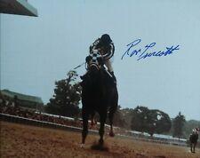 Ron Turcotte autograph  Secretariat Belmont Stakes Triple Crown 8x10