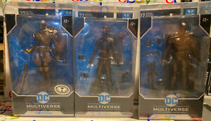 Mcfarlane Bronze Batman And Joker Platinium Deathstroke