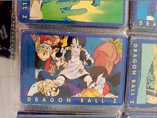 26 DRAGON BALL Z PANINI SERIE 1 AZUL BLUE SERIES  COLLECTION CARD