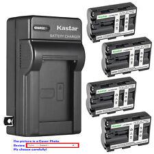 Kastar Battery Wall Charger for Sony NP-FM500H & Sony DSLR-A200 ¦Á200 Alpha A200