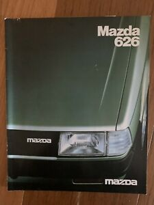 Mazda 626 Sales  Brochure Specifications Etc Rare