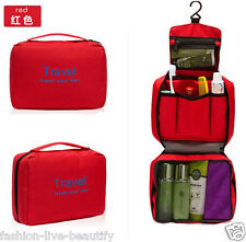 Travel Organizer Toiletry Cosmetic Shaving Make up Wash Folding Storage Bag Hang