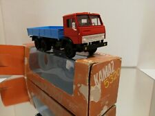 MADE IN USSR KAMAZ 5320 TRUCK - RED BLUE 1:43 Near mint with box