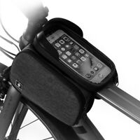 Cycling Accesories Bike Bicycle Tube Bag Phone Holder Touch Screen Front Bags