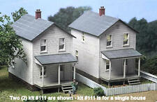 City Classics-HO Scale -- #112 Railroad Street Company House (3 Pack  Kit) NIB