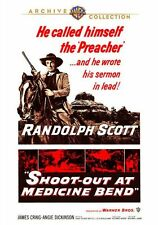 SHOOT-OUT AT MEDICINE BEND (1965 Randolph Scott)  Region Free DVD - Sealed