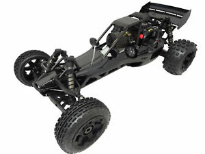 1/5 Rovan 450Cb 45cc Gas, Petrol Buggy 1/5 Scale RTR KM HPI Baja 5B Compatible