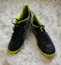 Mens Mitre Soccer cleats Size 9 black neon green