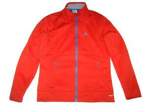 Salomon red Advanced Skin Warm jacket XL