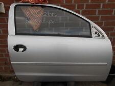 Opel Corsa C Bj00-06 3türer Tür rechts bei HAMBURG Z157 silber Beifahrertür
