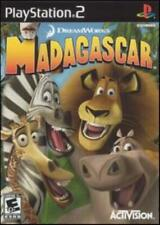 Madagascar Ps2 Playstation 2 3D puzzle film movie DreamWorks animal lion game!