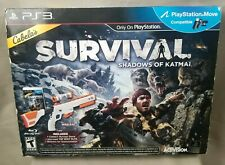 Cabela's Survival Shadow of Katmai with Gun Playstation PS3 New In Open Box