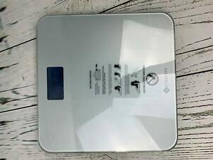 Etekcity Digital Body Weight Bathroom Scale with Body Tape Measure and Round Cor