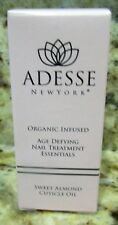 Adesse New York Organic Infused Nail Treatments- Sweet Almond Cuticle Oil 11ml