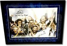 Landon Donovan Signed 16x24 Galaxy 2011 MLS Cup Suede Floating Framed UDA 10/50